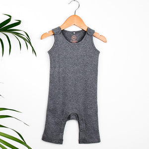 Jersey Jumpsuit | Grey Marl