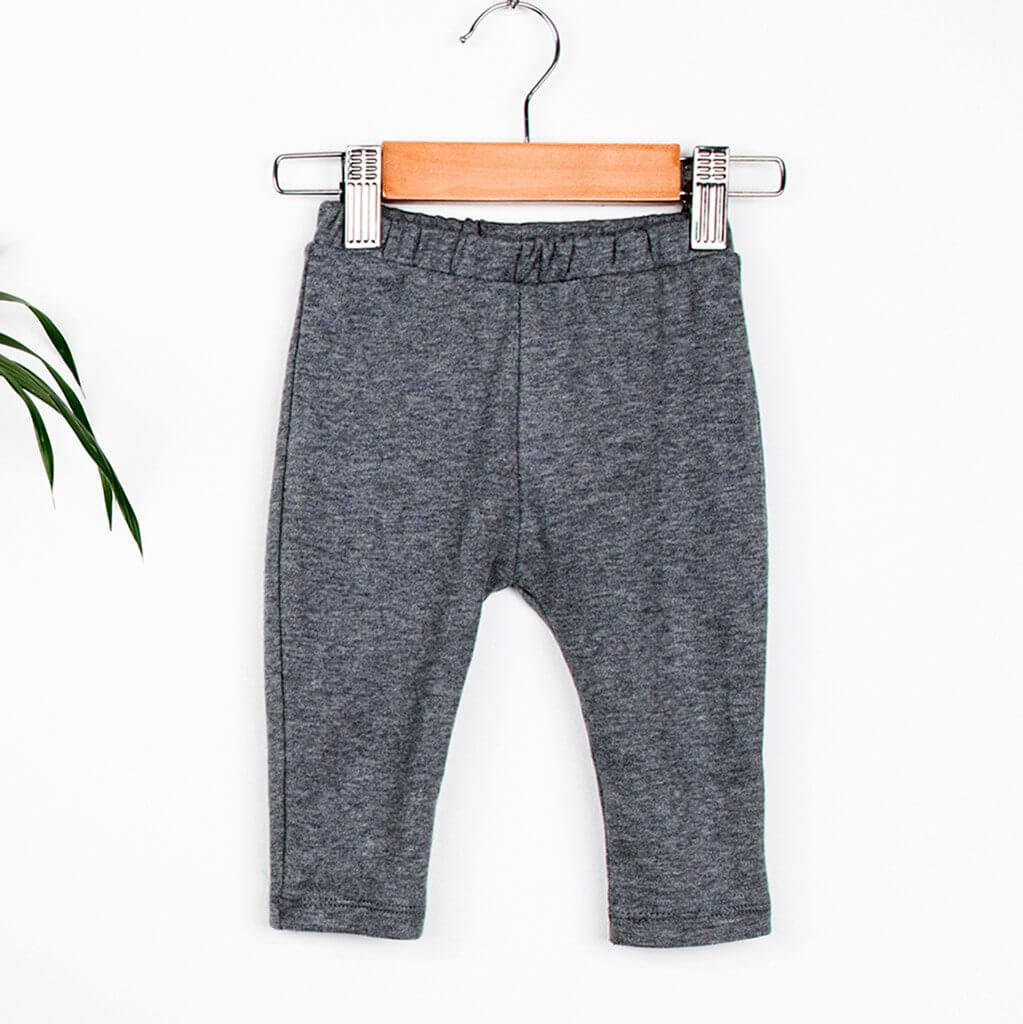 Leggings | Grey Marl Print