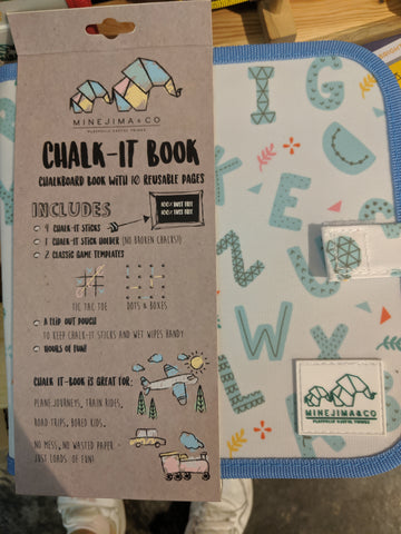 Chalk-It Book | Action Alphabet