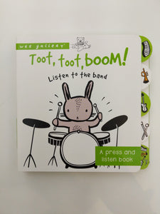 TOOT TOOT BOOM ... LISTEN TO THE BAND