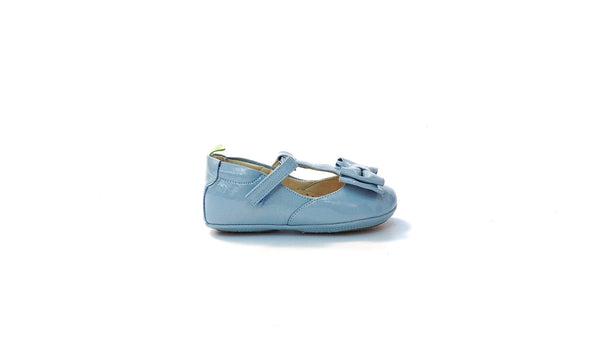 Tip Toey Joey - Nobly | Patent Baby Blue