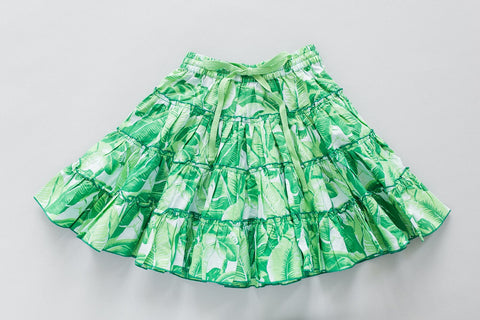 Luna Skirt | Green Palm