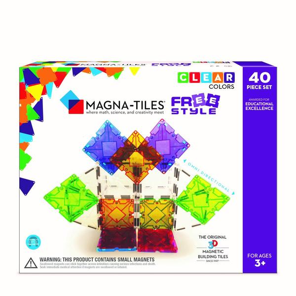MAGNA-TILES FreeStyle 40 Piece Set