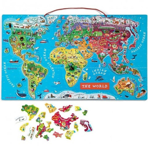 Magnetic World Map