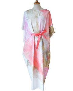 Midi Kimono Dress | English Rose