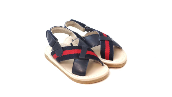 Oscar's for Kids - Milan Sandals | Navy