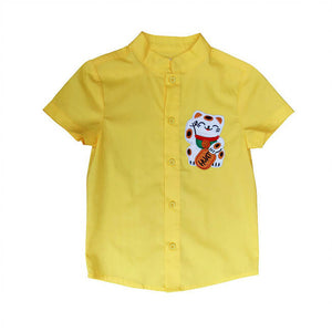 Neko Shirt | Yellow
