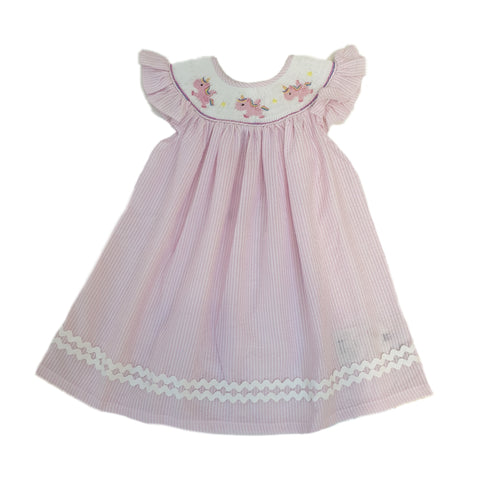 Uriela Unicorn Dress Pink