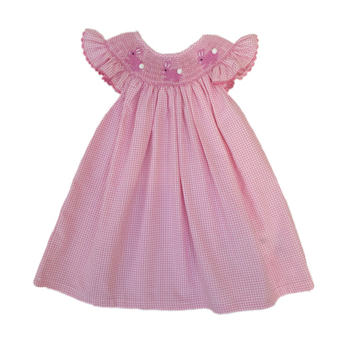 Dainty Bunny Dress Pink