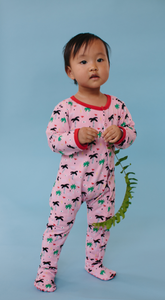Pink Palm Eye Organic Pajamas