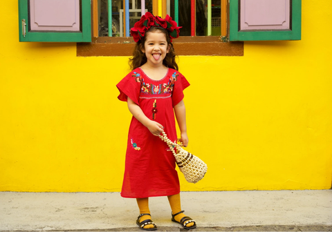 Kids Gabriela Red Dress