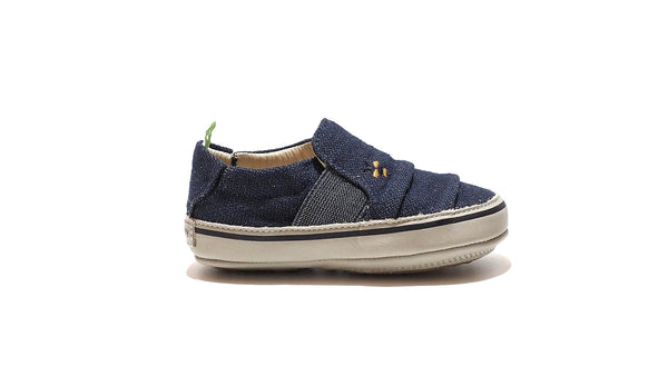 Tip Toey Joey - Slippy Jeans Canvas | Beeswax-Pumice