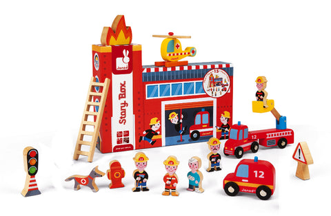 Story Box | Firefighters