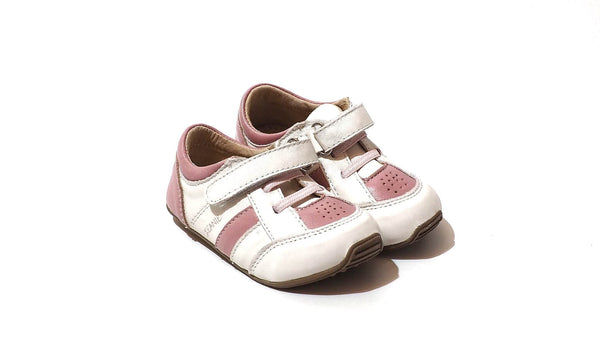 Skeanie Trainers | Pink-White