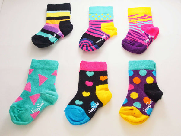 Happy Socks Infant Gift Box | Triangle