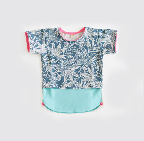 T-shirt | Tropical Print