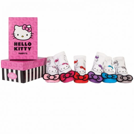 Trumpette Socks | Hello Kitty Bow Pixie (0 - 12M)