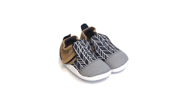 Bobux - Xplorer | Navy with White Herringbone
