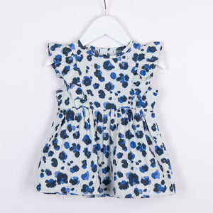 Frill Dress | Yala Ink Blue
