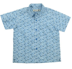 Collared Shirt | Sailboat