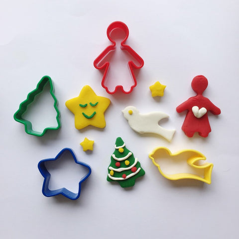 Accessories | Christmas Playdough Cutters