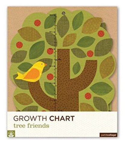 PETIT COLLAGE Tree Friends Folding Growth Chart