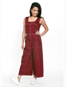 PERKY Jumpsuit in Red