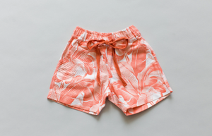 Zac Shorts - Peach Palm