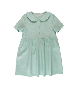 Peter Pan Collar Dress | Mint