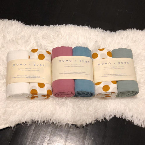 Momo and Bubs - Swaddle Set ( 2 Pieces )