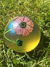 Orient & Flume Mauve Poppy in Full Bloom Paperweight