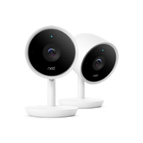 If Nest Cam IQ sees a person while you aren't home, it will trigger an automatic alert with a zoomed in photo of what it sees.