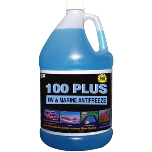 100 PLUS RV & Marine Antifreeze - Case of 6 (1 Gallon)