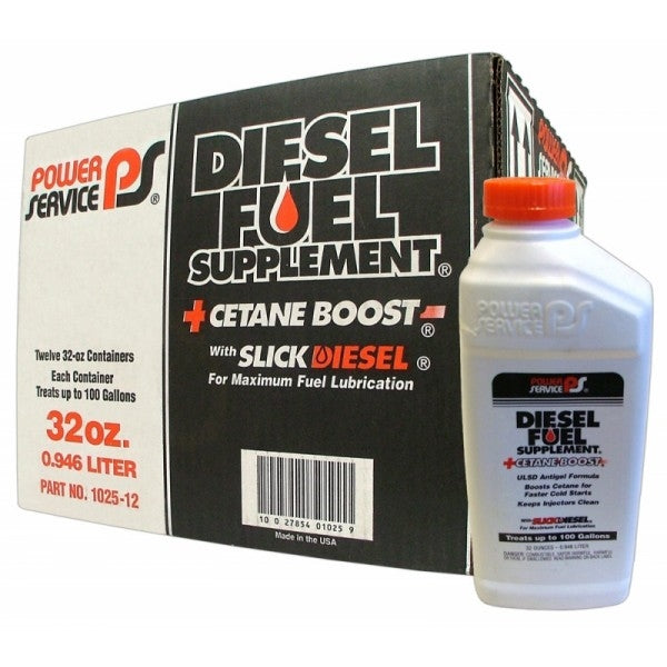 Diesel Fuel Supplement - Case Of 12 (1 QT Containers)