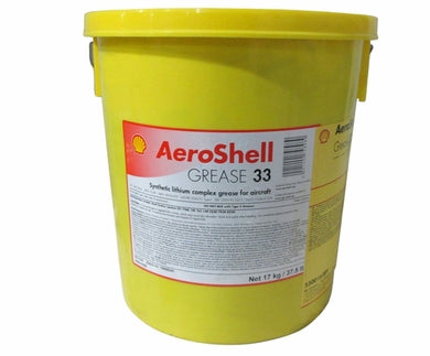 AeroShell 33 Grease - Universal Airframe Grease - 120 LB Keg