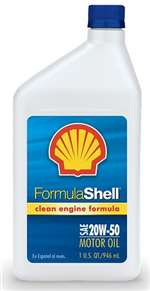 FormulaShell W 20 50 (SN) Conventional Motor Oil - Case of 12 (1 qt)