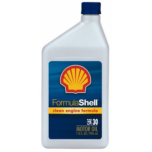 FormulaShell 30 (SN) Conventional Motor Oil - Case of 12 (1 qt)