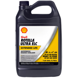 Shell Rotella Ultra ELC Antifreeze-Coolant Pre-Diluted 50/50 Mix Gallon