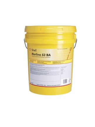 Shell Morlina S3 BA 220 Rust And Oxidation Inhibited Lubricating Oil - 5 Gallon Pail