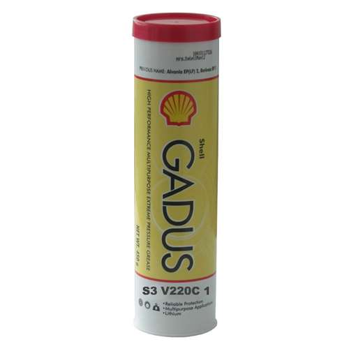 Shell Gadus S3 V220C 1 Multipurpose Grease - Case of 10 (14 oz Tubes)