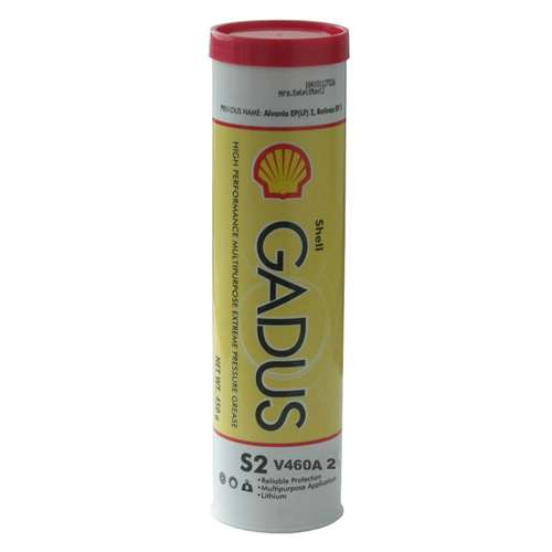 Shell Gadus S2 V460A 2 Multi-Purpose Heavy Duty Grease - Case of 10 (14 oz Tubes)