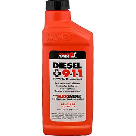 Diesel 911 Diesel Fuel Supplement - Case Of 12 (1 QT Containers)