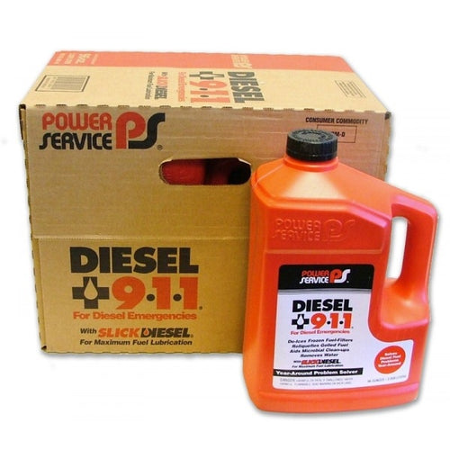 Diesel 911 Diesel Fuel Supplement - Case Of 6 (80 Oz Containers)