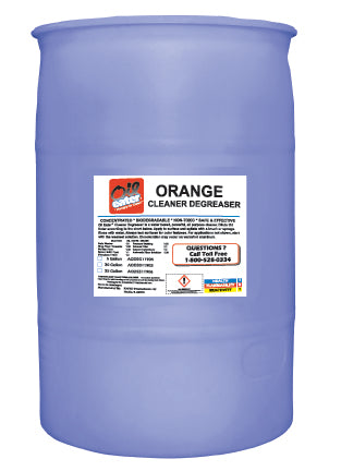 Oil Eater Orange Cleaner - 55 Gallon Drum