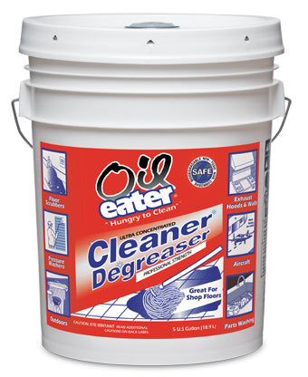 Oil Eater Cleaner Degreaser - 5 Gallon Pail