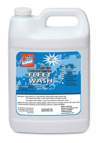 Oil Eater Fleet Wash - Case of 4 (1 Gallon)