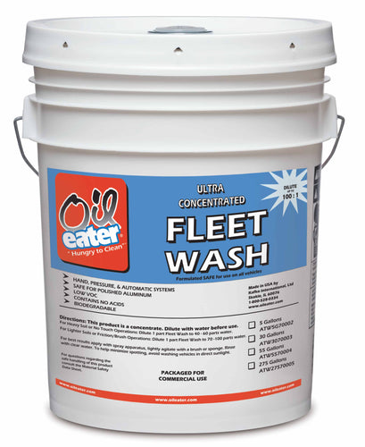 Oil Eater Fleet Wash - 5 Gallon Pail
