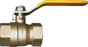 Brass Ball Valve, 1in. No Fittings