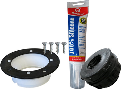Bulkhead Replacement Kit for Tote-A-Lube and Wall-Stacker Tanks