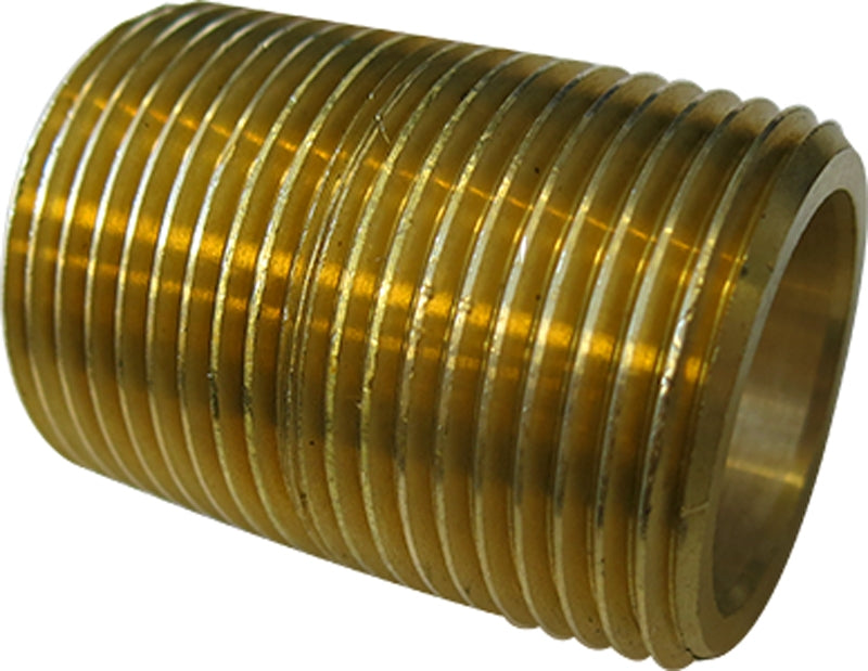 1in. MPT Brass Pipe Nipple